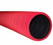Труба ПНД красная